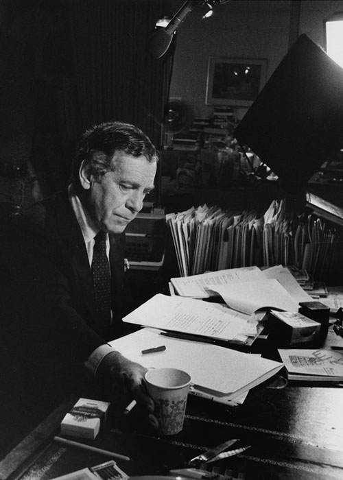 Morley Safer. Morley Safer Papers. Briscoe Center for American History.