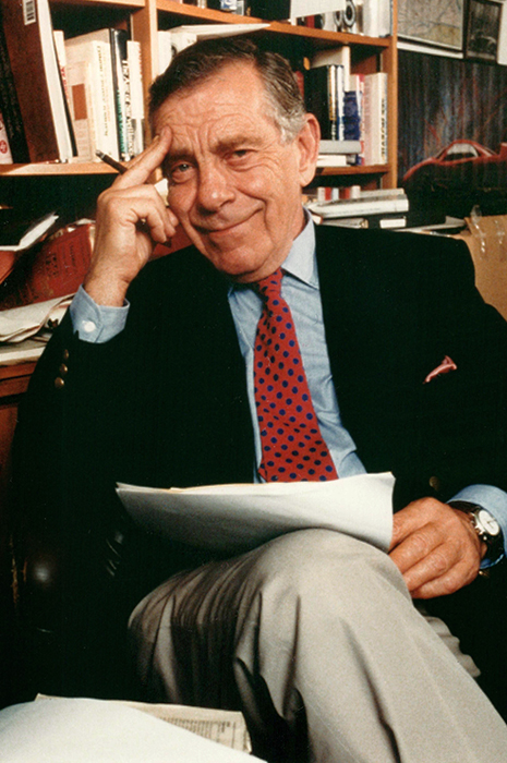 Morley Safer, 1994. Courtesy of Jane Safer.